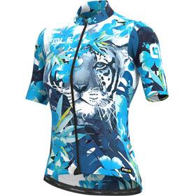 Alé Cycling PRR Tiger SS Jersey Women, blue/light blue